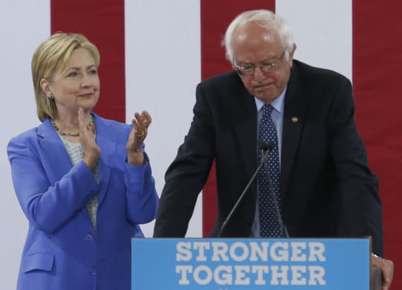 Sanders reveals Clinton VP he would've preferred