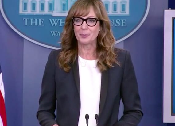 Allison Janney revived her 'West Wing' character