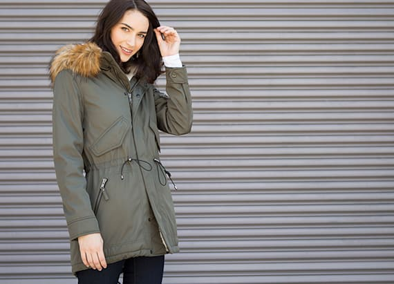 A waterproof parka that's totally cozy