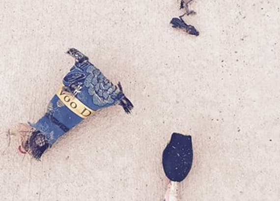 Mystery over voodoo doll found at police station