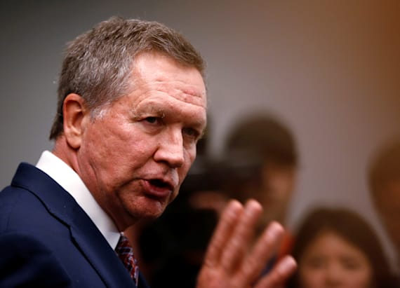 He's 'trending poorly': Kasich says about Trump