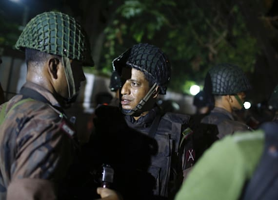 Foreigners among hostages in Bangladesh siege