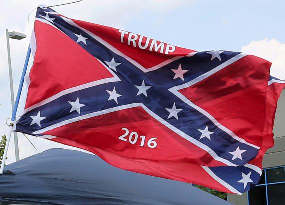 Hillary Clinton's new ad links Trump to KKK