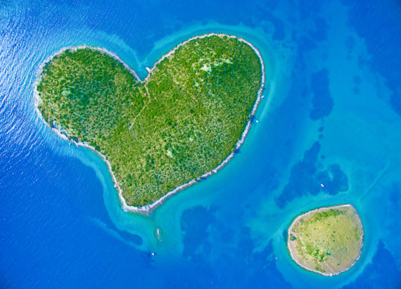 This island is the perfect destination for romantics