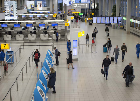 Country considered target heightens airport security
