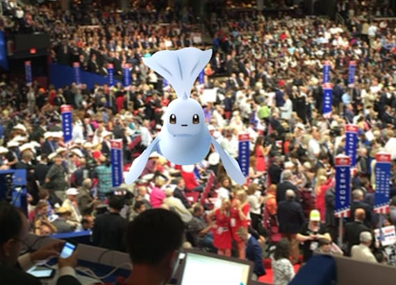 Best images from catching Pokemon at the RNC