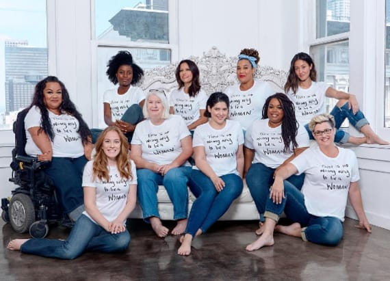 Model launches body positive campaign