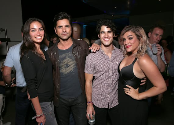 Stamos makes first public appearance with girlfriend