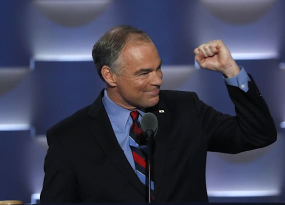 Kaine to Trump: 'Hey Donald, what are you hiding?'