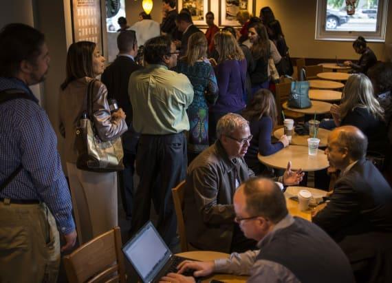 Starbucks baristas reveal reason lines are longer