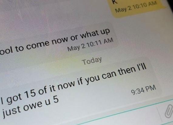 Cops beg public to stop calling drug dealer's phone