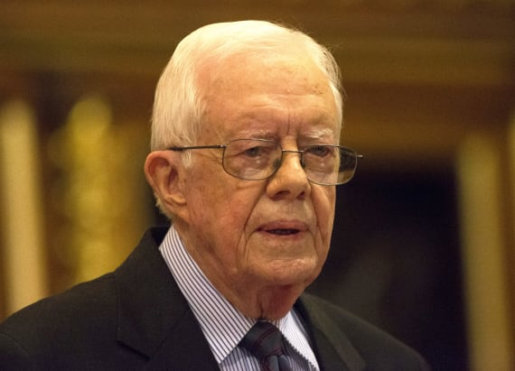 Jimmy Carter has harsh words for Trump