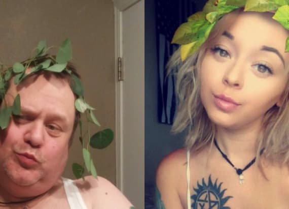 Dad recreates daughter's selfies in hilarious way