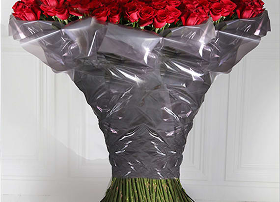 Check out the world's most expensive Valentine's Day bouquet
