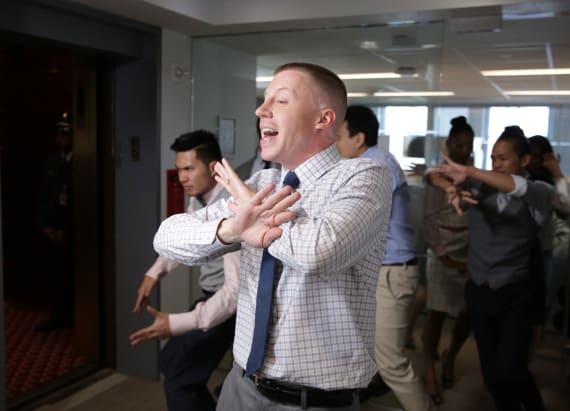 Watch Macklemore and Ryan Lewis sing 'Dance Off'