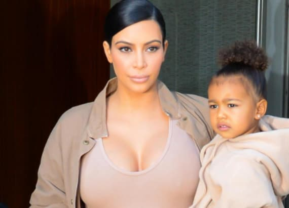 15 of Kim and North's cutest matching outfits