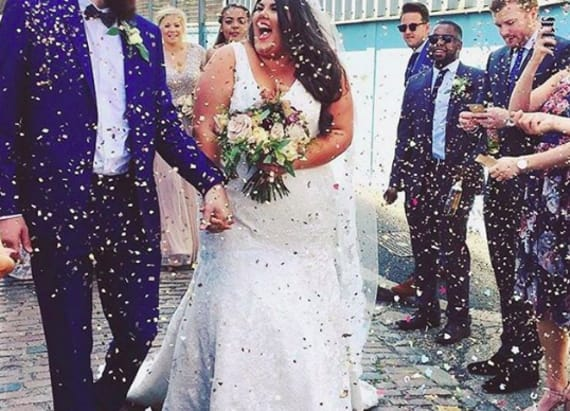 Plus-size bride's empowering message goes viral