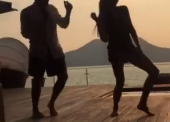 Victoria Beckham shows off dance moves in Mexico