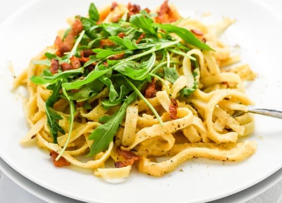 Creamy cheesy butternut squash pasta