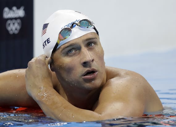 Police recommend charges against Lochte