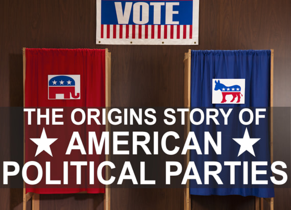The origins of American political parties