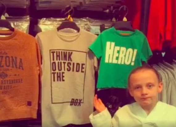 Little girl calls out 'sexist' children's clothes