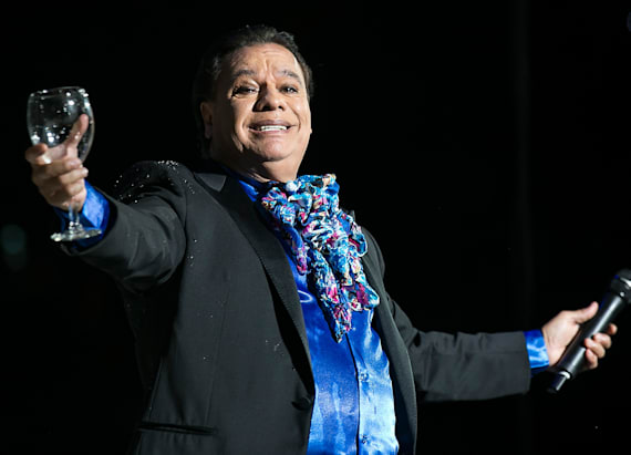 Mexican superstar Juan Gabriel dies