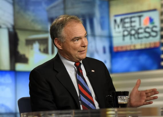 Kaine on whether he's ready to be president