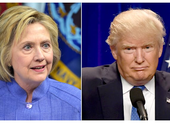 Clinton's lead over Trump just plummeted