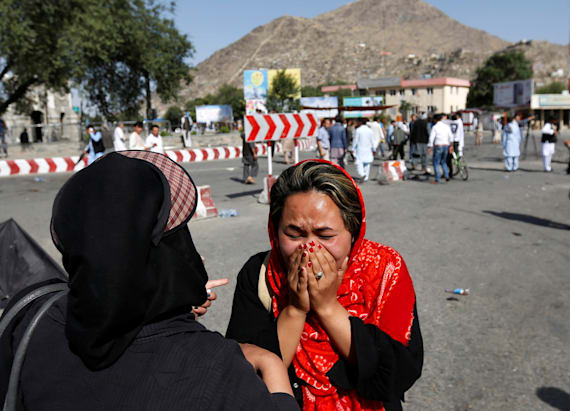 At least 61 dead in Kabul demonstration attack