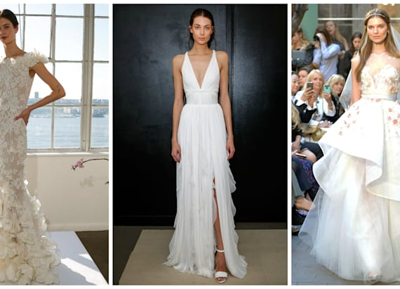 The 16 prettiest dresses from Spring 2017 Bridal
