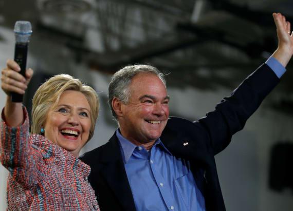 Hillary Clinton announces her 2016 running mate