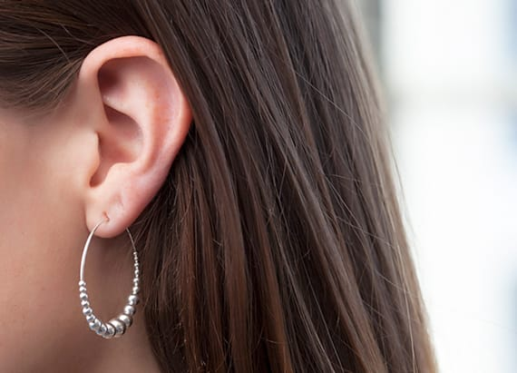Featherweight hoop earrings you'll love