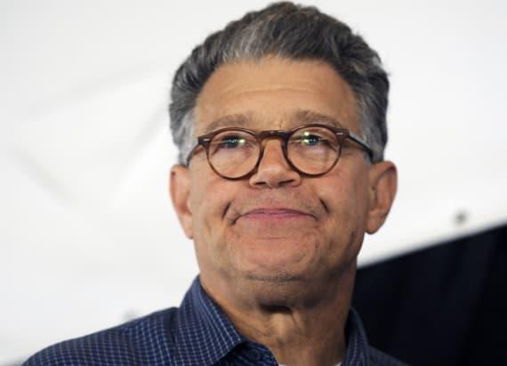 Al Franken says he'd accept the job as Clinton's VP