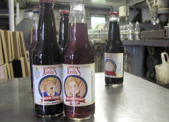 Drink named after Trump is saving this soda business
