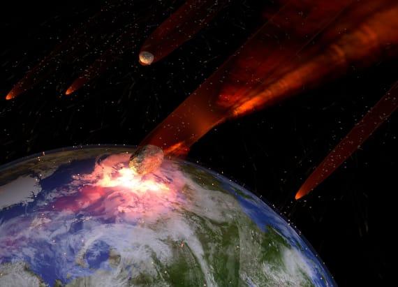 Dinosaur-killing asteroid almost got us, too