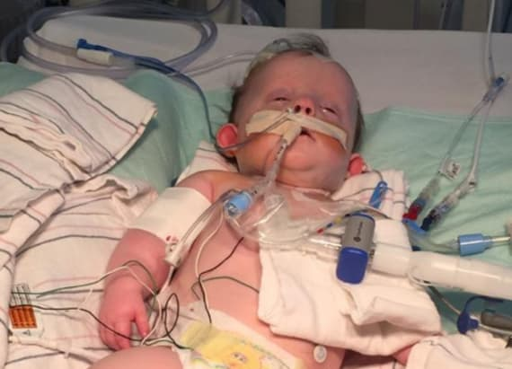 Special friends watch over baby girl in coma