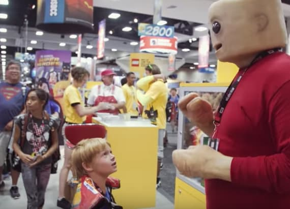 Real-life Lego man will haunt your nightmares