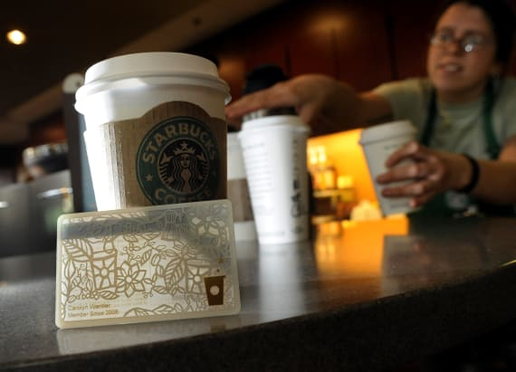 Starbucks' rewards program is crucial to business
