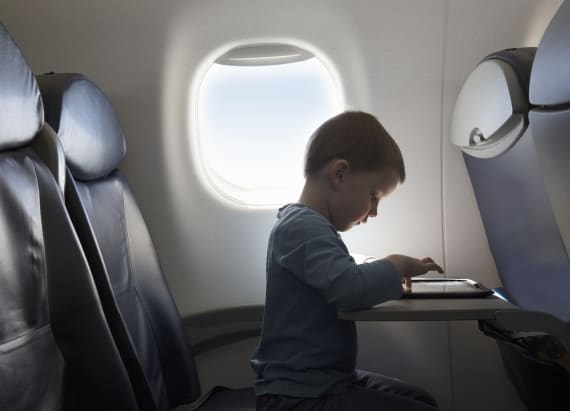 One major airline lets your kids fly for free