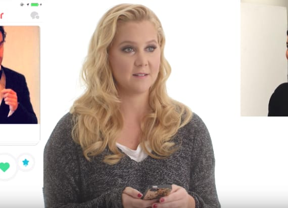 Amy Schumer took over someone's Tinder profile