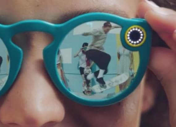 Snapchat breaks into fashion with sunglasses