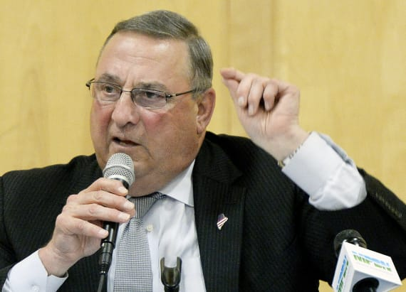 Maine governor apologizes for leaving vile voicemail