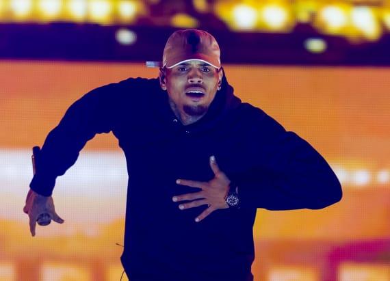 Chris Brown posts massive bail