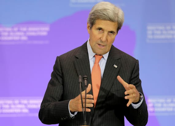John Kerry raises eyebrows with ISIS comment