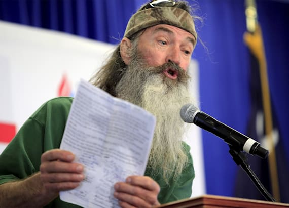 'Duck Dynasty's' Phil Robertson discusses Trump