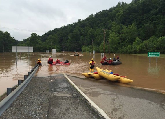 West Virginia's worst flooding in a century kills 24