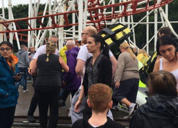Roller coaster derails in Scotland injuring seven