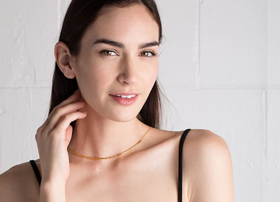 Delicate 3-in-1 necklace by Gorjana