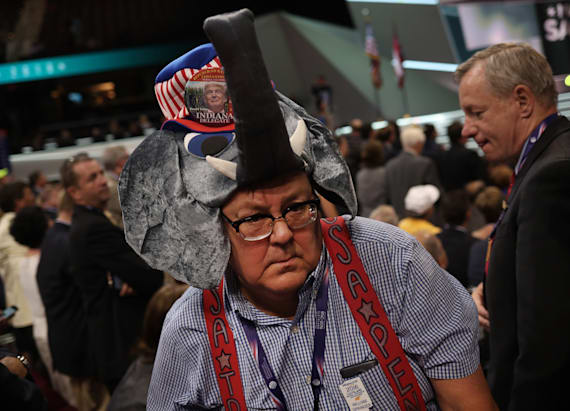 Elephants are everywhere at the 2016 RNC